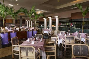 Coba International buffet. Market place - Grand Oasis Sens